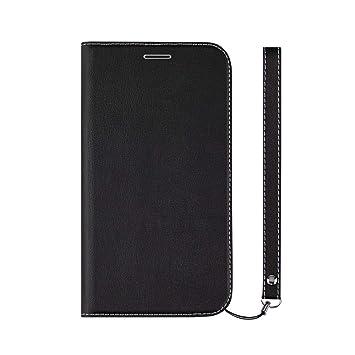 d4e4908592 Simplism iPhone XR [FlipNote Slim] クラリーノ フリップノートケース フラットブラック