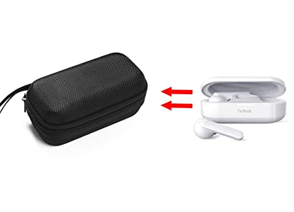 GH GHawk® Mobvoi TicPods Free Estuche para Auriculares Estuche rígido de Viaje Bolsa de Transporte