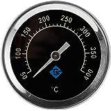 1 unidade 50-400 ? termômetro bimetálico termômetro de cozinha de forno de aço inoxidável termômetro de cozinha