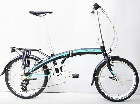 Oyama CX carbón mate 8 plegable para bicicleta: Amazon.es ...