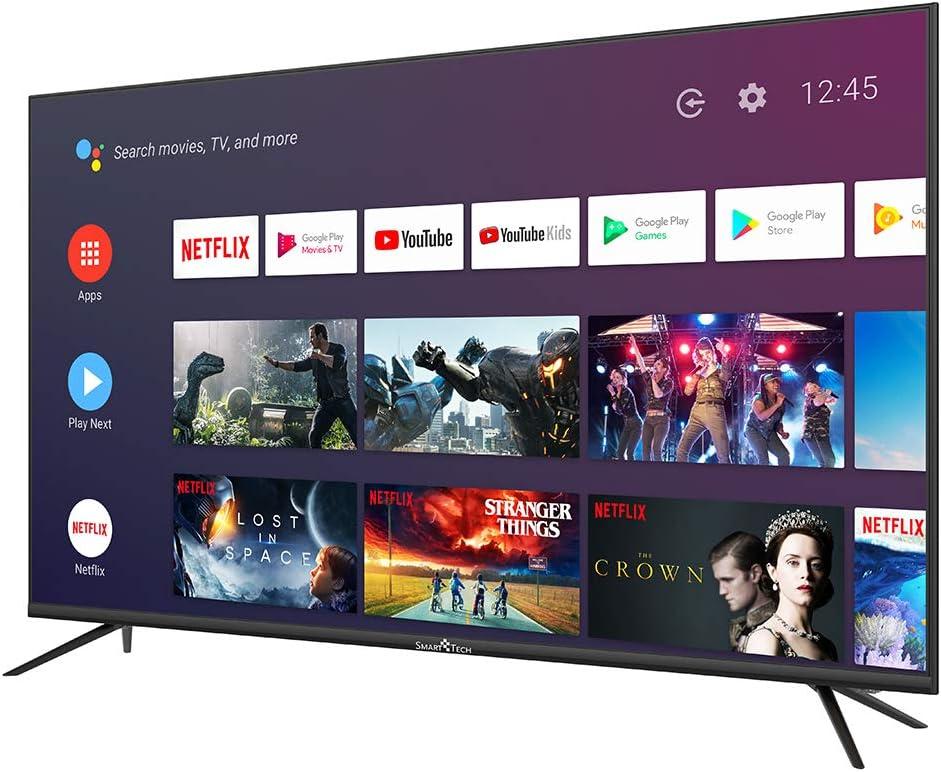Smart TECH TV LED UHD 4K Android/Netflix 55