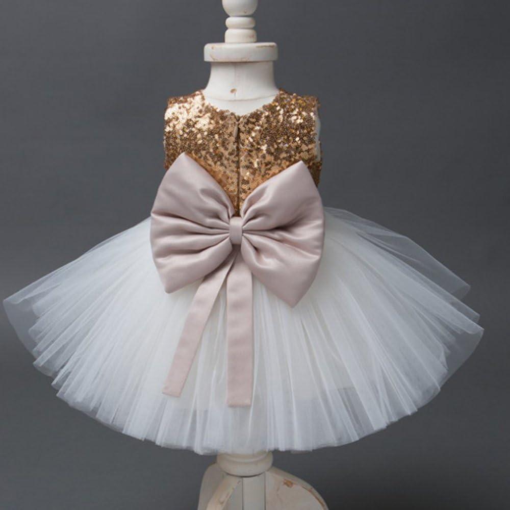 Coerni Girl Cotton Princess Tulle Dress with Big Bowknot