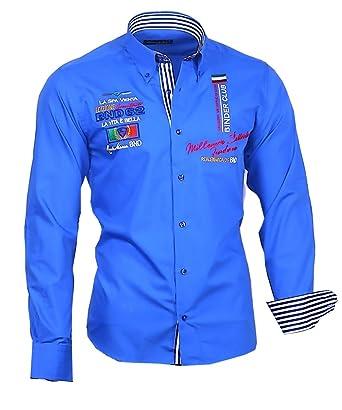 b362b19b1846 Binder de Luxe 816 Herren Hemd modern fit  Amazon.de  Bekleidung