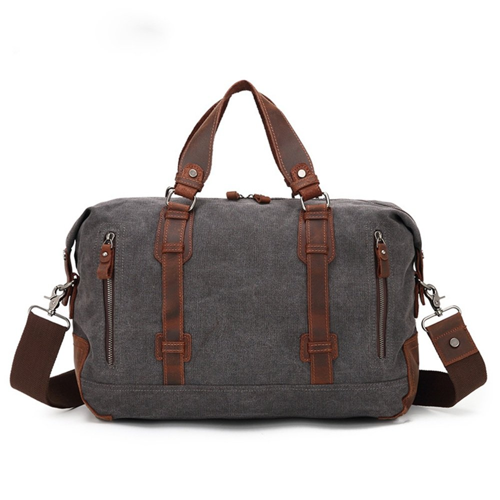 Ybriefbag Unisex Canvas Bag Shoulder Bag Travel Mountaineering Sports Leisure Tourism Small Canvas Tote Bag Mens Vacation