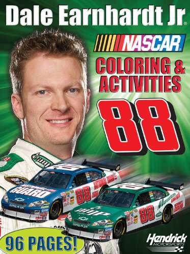 Nascar Coloring Book - Dale Earnhardt Jr. (Nascar Drivers Coloring Book)