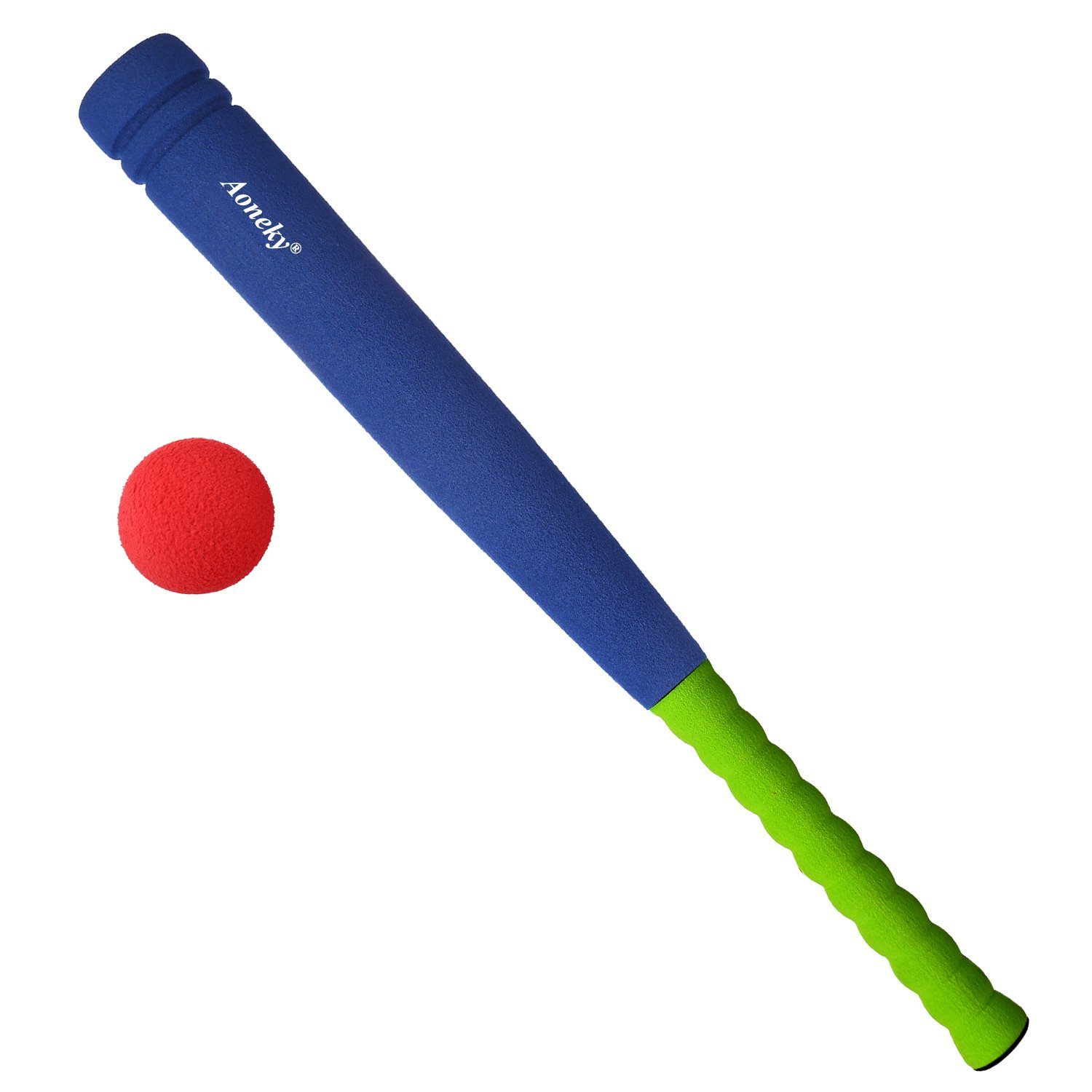 Amazon Kids Foam Baseball Bat Toys Indoor Soft Super Safe T Ball Set for Children Age 3 5 Years Old Toys & Games