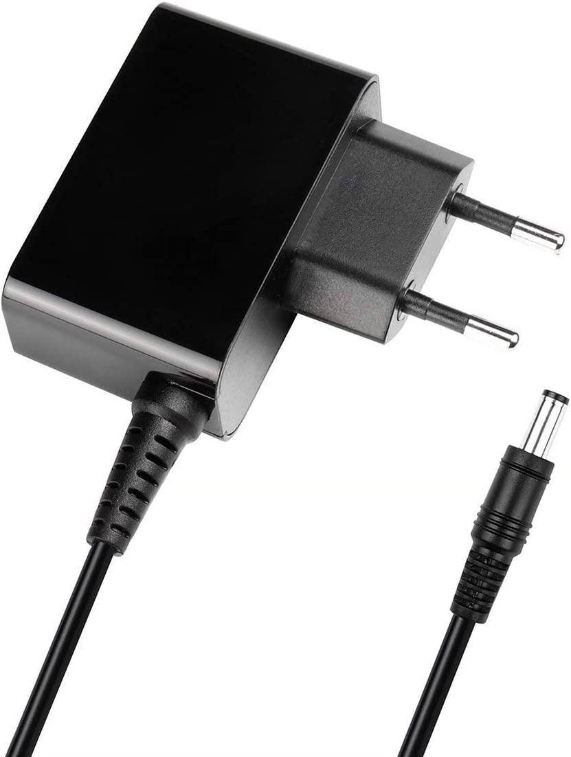SALCAR Adaptador de Corriente de 9W 9V 1A(5,5 x 2,1mm), Dispositivos médicos, Timbre inalámbrico, módem ADSL, Impresora, Router inalámbrico, Tablet, decodificadores, CCTV, LCD, Reproductor de CD, etc