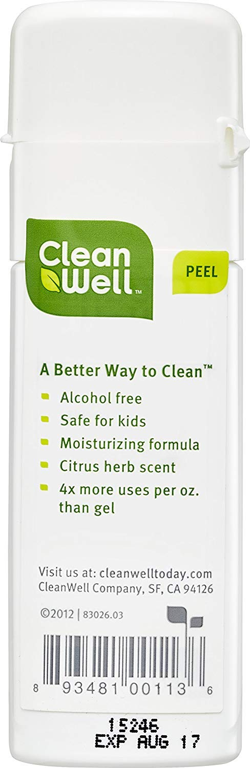 CleanWell Natural Hand Sanitizer Spray - Original Scent, 1 Ounce (Pack of 6) by Cleanwell (Image #11)