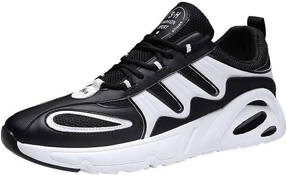 ZODOF zapatillas deportivas hombre Pareja Moda Casual Malla Deporte Ligero Respirable Zapatos para correr Sneakers(39 EU,Negro): Amazon.es: Bricolaje y herramientas