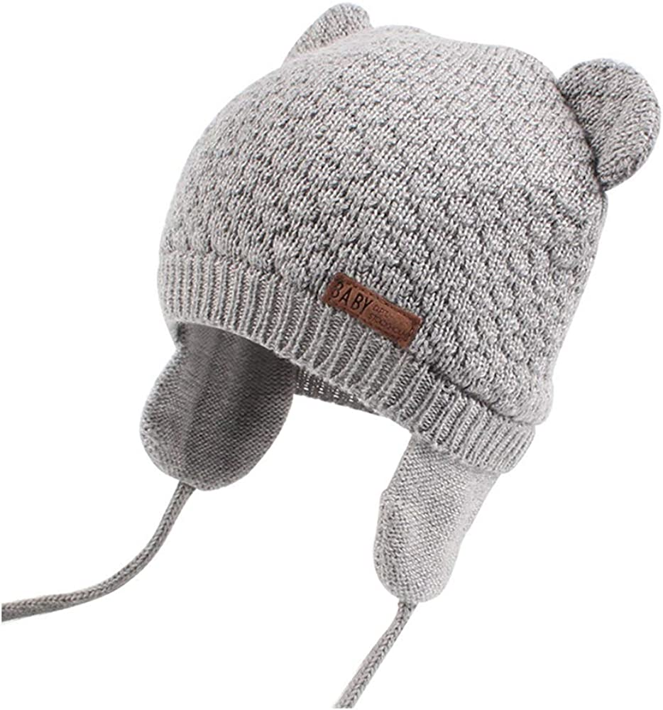 XIAOHAWANG Baby Hat Cute Bear Toddler