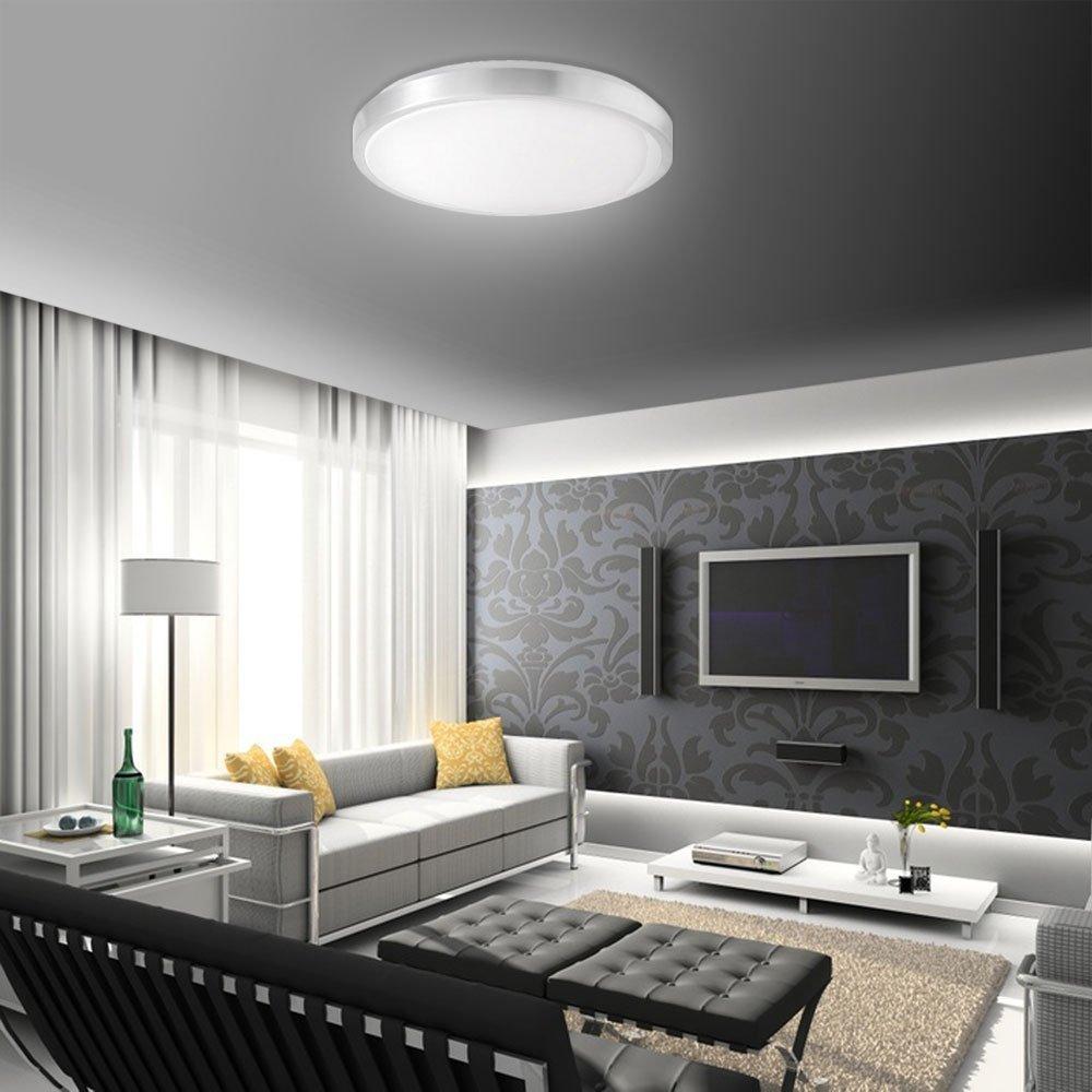 SAILUN 15W LED Panel Kaltweiß Moderne Deckenlampe Wandlampe Energiespar  Deckenleuchte Für Wohnzimmer, Korridor, Wand , Bad Und Decke Schlafzimmer  Küche ...