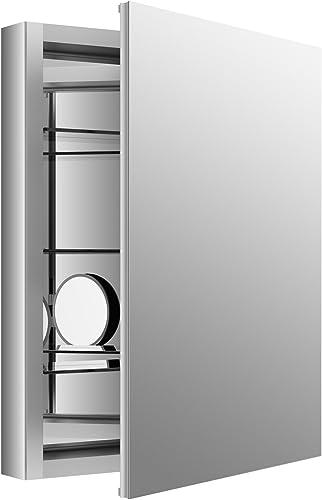 KOHLER K-99007-SCF-NA Aluminum Verdera Medicine Cabinet