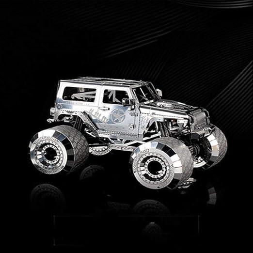 Wrangler Monster Car Metal Ensamblados Juguetes Puzzle para niños ...