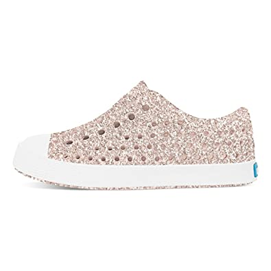 fbd974a809b88f Native Kids Girls Jefferson Bling Slip On Loafers