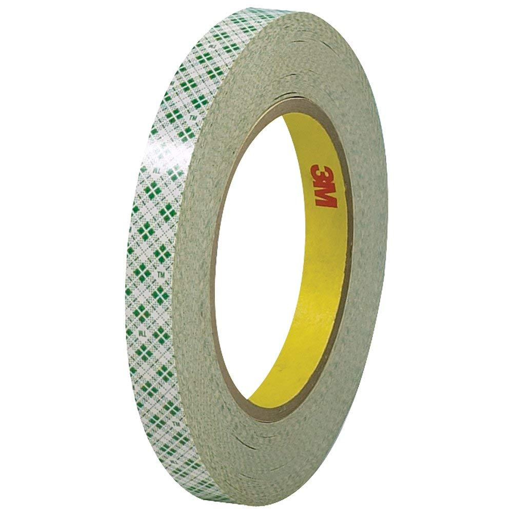 """3M T9534103PK Double Sided Masking Tape, 1/2"""" x 36 yd (Pack of 3)"""
