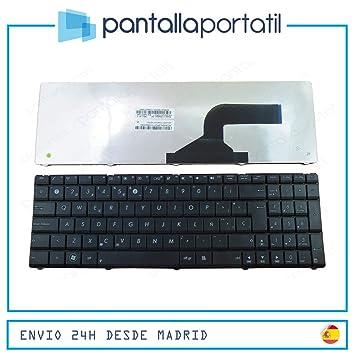 Desconocido Keyboard Teclado ESPAÑOL Nuevo ASUS X54 X54L X54H X54HR A54L: Amazon.es: Electrónica
