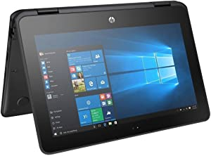 "2018 Newest HP X360 ProBook Business 2-in-1 11.6"" Touchscreen Laptop PC, Intel Celeron N3350 Dual-Core Processor, 4GB RAM, 64GB SSD, HDMI, Bluetooth, Webcam, WiFi, Windows 10 Pro"