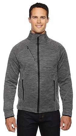 6b05284ed North End Sport Men's Flux Mélange Bonded Fleece Jacket