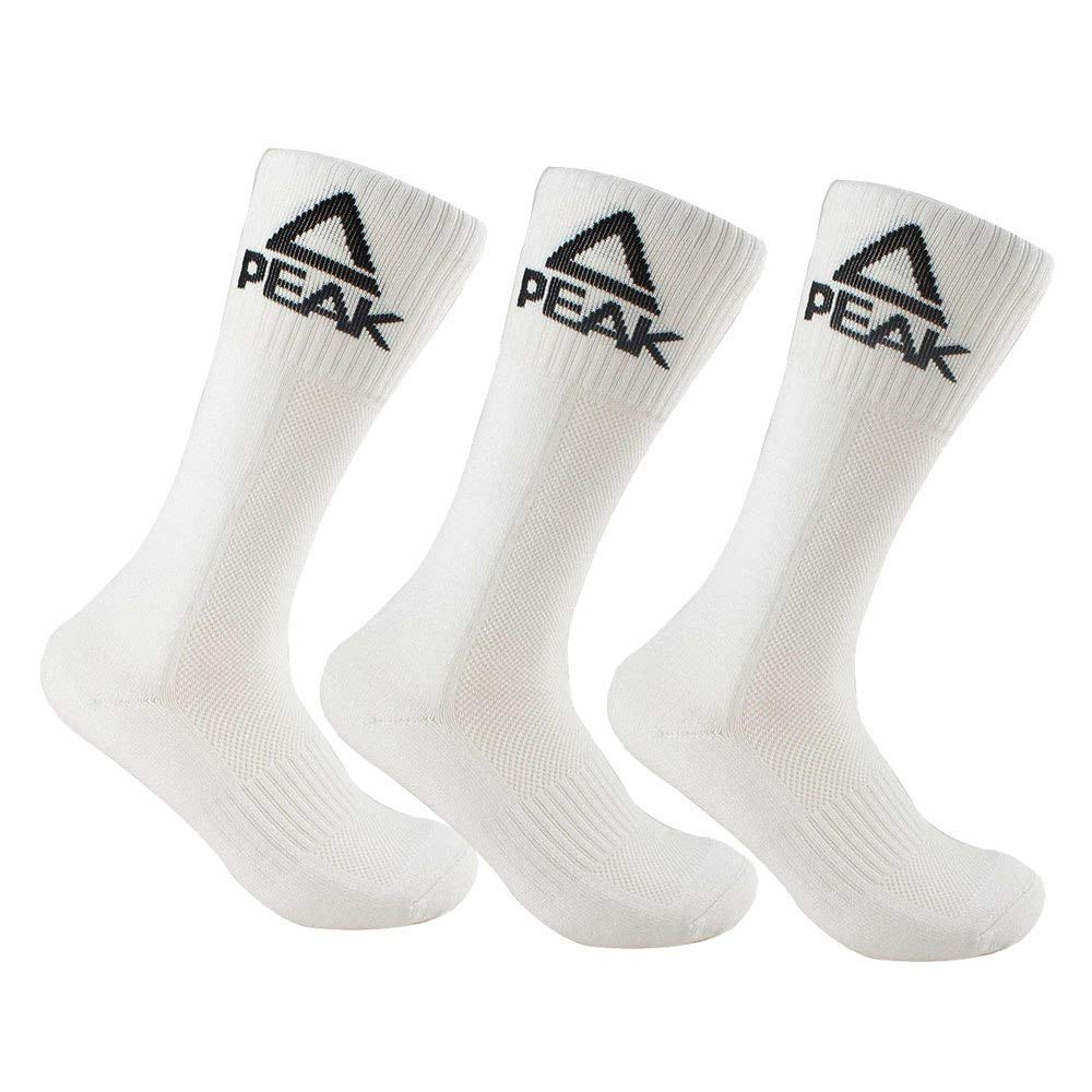 1 Pair or 3 Pack Peak Mens Elite Basketball Crew Socks Cushion Training Dry Fit Athletic Sock