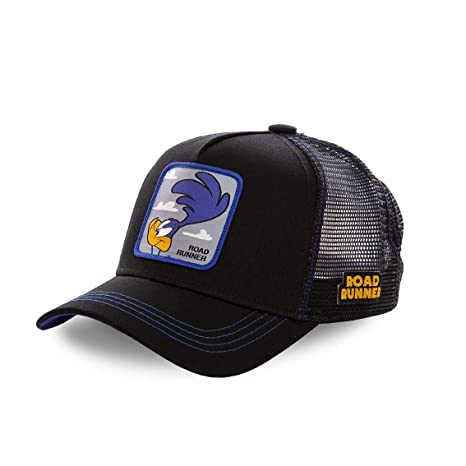 Capslab Gorra Correcaminos Road Runner Negra Unisex: Amazon.es ...