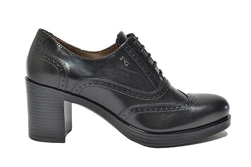 Nero Giardini Francesine nero 9360 scarpe donna A719360D 39