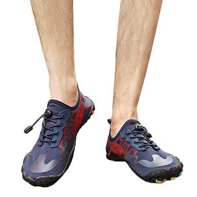 2019 Zapatillas Zapatos Deportivos Con Cordón De Agua Para Buceo Snorkel Surf Piscina Playa Vela Mar Río Cycling Acuáticos Calzado De Natación Escarpines ...