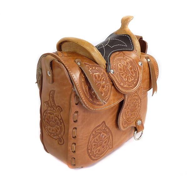 Westernwear Shop Ledertasche Saddle braun II Damen