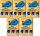 BIC Wite-Out YilOIp Brand EZ Correct Correction Tape, 10 Count (5 Pack)