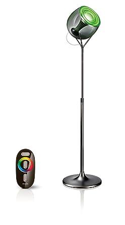 Philips Sur Basse Noire D'ambiance Pied Livingcolors Lumière Lampe ikXuPZ