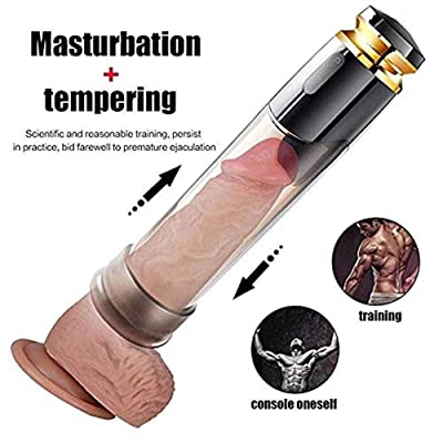 ZASAYA Hollow Electric Pê~nīs Enlarge Pump Men\'s 3D Lifelike Ṗôckét Pušseÿ Pīstòn Cup with Real Skin-Touch Feeling Male PênīsPump Air Vacuum Pump Pênīsgrowth Mouth Simulation: Sports & Outdoors [5Bkhe0701316]