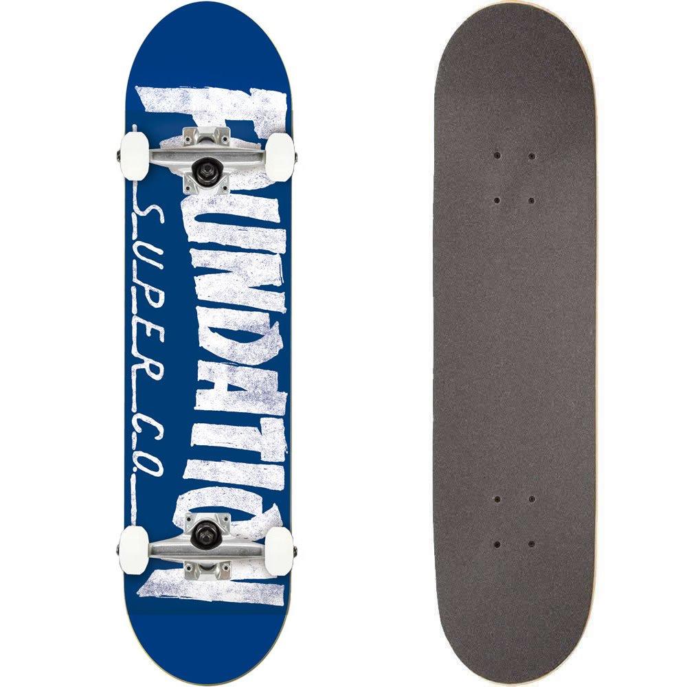 低価格で大人気の FOUNDATION(ファンデーション) スケートボード コンプリート コンプリート (完成品) THRASHER BLUE パーツ使用 ブランド純正品 ブランド純正品 スケボー BLUE C18010 (8 x 31.5) B07C3K1Z4P, まめ暮らし:b6da05cd --- svecha37.ru