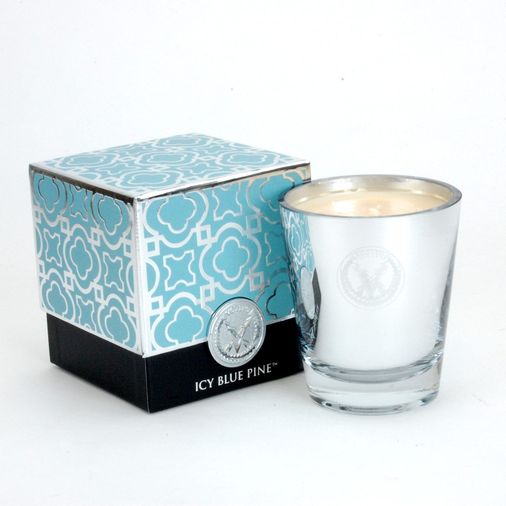 Votivo Icy Blue Pine Holiday Candle, 8.5 Oz