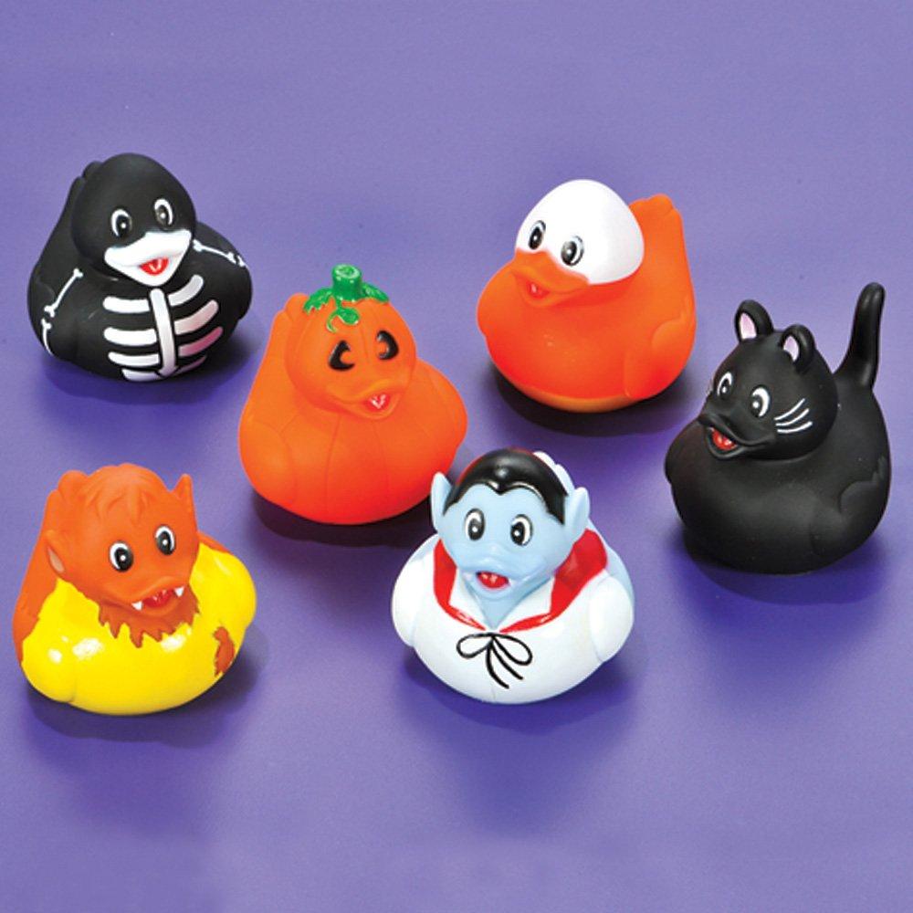 amazoncom 156 piece mega halloween toy novelty assortment 12 halloween ducks 12 halloween pencils 12 halloween sticker sheets 48 halloween erasers