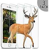 【3枚】 iPhone 8/7/6/6s用 液晶保護フィルム ガラスフィルム 強化ガラス 全面フルカバー 飛散防止 保護シート 透明 4.7インチ