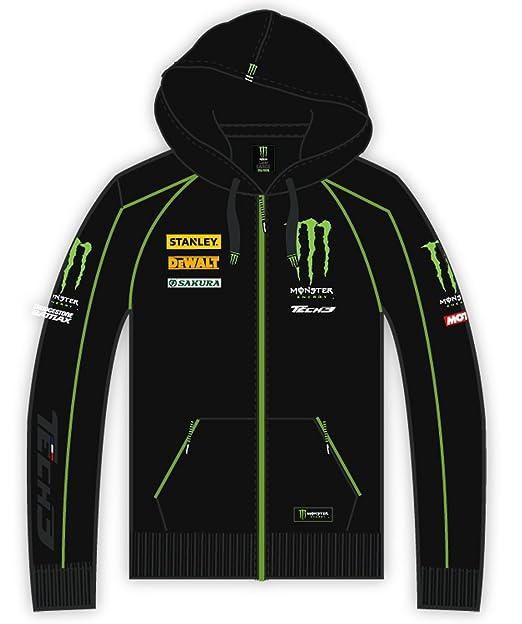 Sudadera con capucha para hombre Team Yamaha Tech3 Monster Energy MotoGP negro large : Amazon.es: Ropa y accesorios