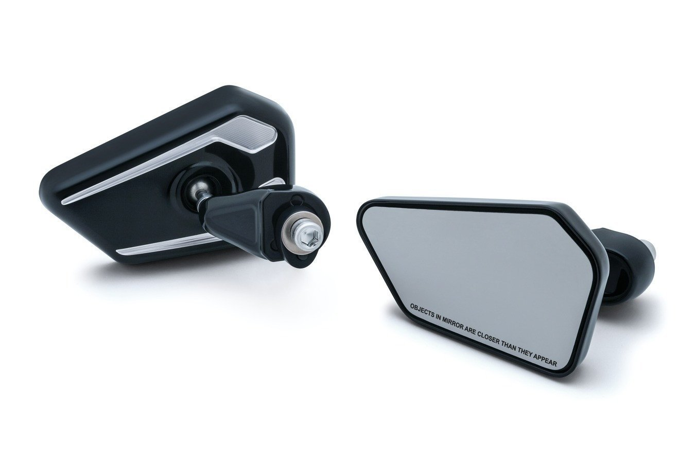 Bagger Brothers HD-MIR24K Elite Series Black Fairing Mounted Mirror for 2014 - 2018 Harley-Davidson FLH Touring Models