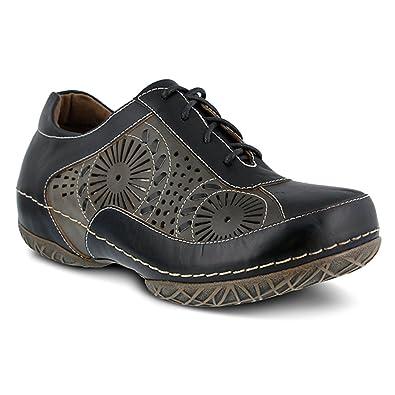 L'Artiste by Spring Step Women's Balmar Slip-on Loafer, Black/Multi
