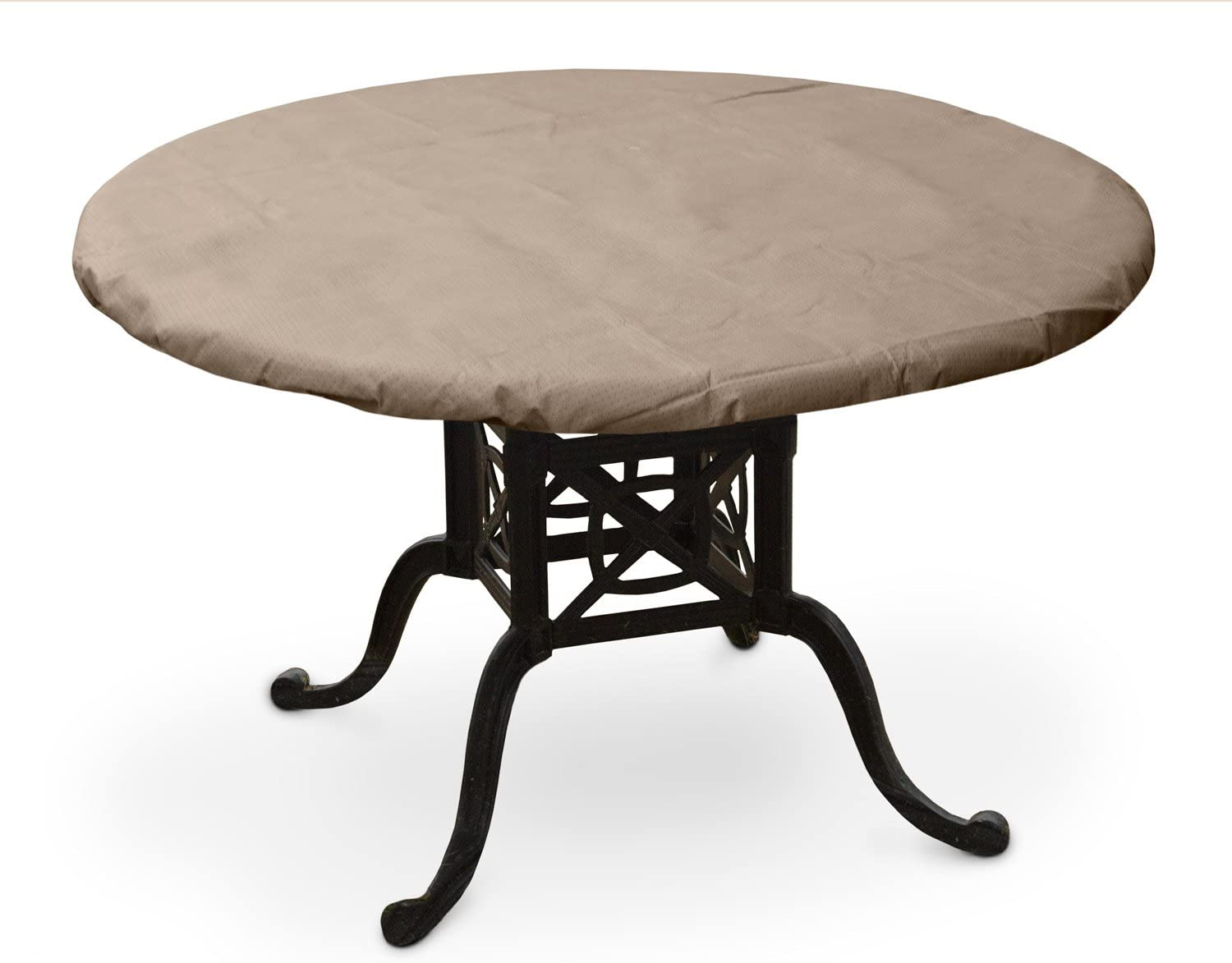KoverRoos III 37360 32-Inch Round Table Top Cover, 36-Inch Diameter, Taupe