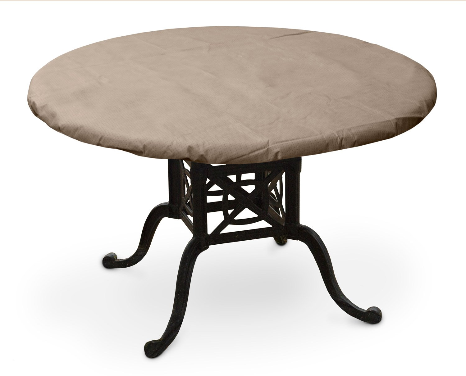 KoverRoos III 31560 50-Inch Round Table Top Cover, 54-Inch Diameter, Taupe by KOVERROOS