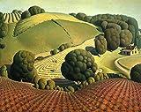 Young Corn: Grant Wood: circa 1931: Fine Art Print