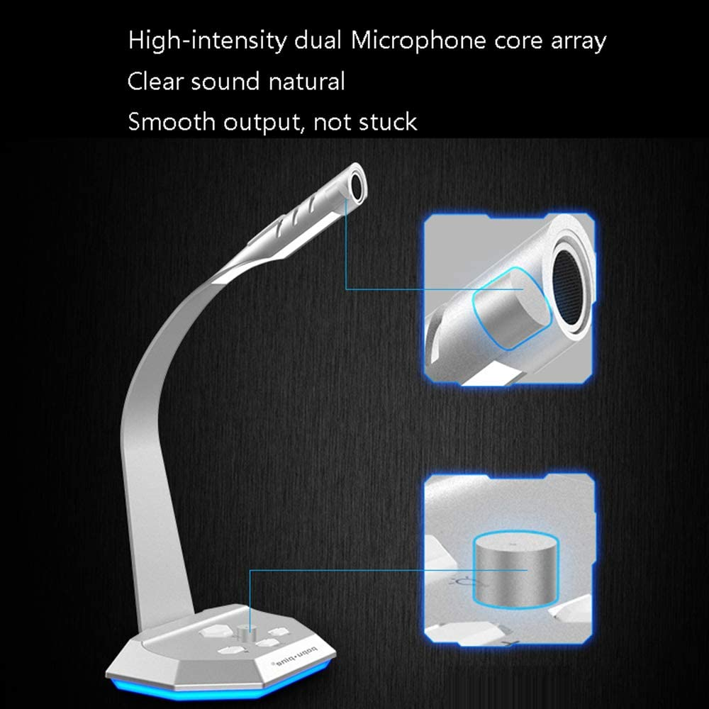 electronic product Computer Microphone Multi-Application Voice Game Anchor etc ZDDAB Home Wired Desktop Microphone