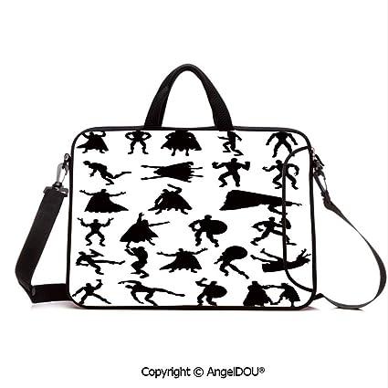 ec2541e19ab1 Amazon.com: AngelDOU Neoprene Printed Fashion Laptop Bag Hero ...