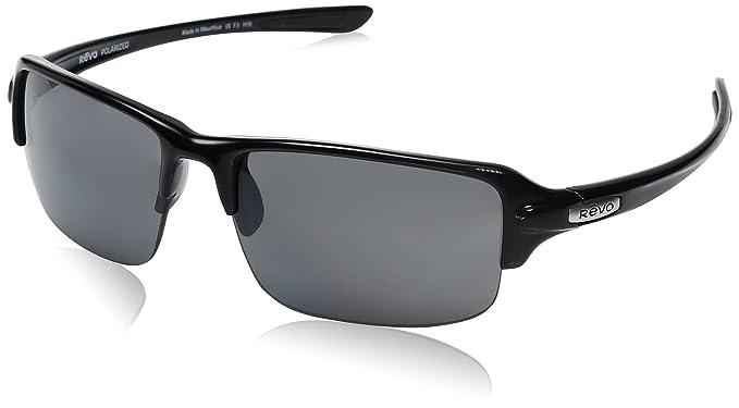 b2ee7d0230 Revo Unisex RE 4041X Abyss Wraparound Polarized UV Protection Sunglasses  Wrap