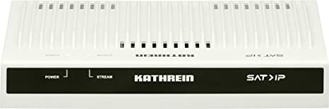 Kathrein EXIP 418 SAT>IP Server / SAT2IP Converter (4x DVB-S/S2 SAT-Tuner Eingänge, max. 8 Teilnehmer, Gigabit LAN, K-LAN, DL