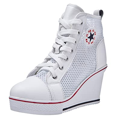 Chaussures Montante Sneakers Mode Compensées Padgene Tennis Baskets xBgZaFqYw