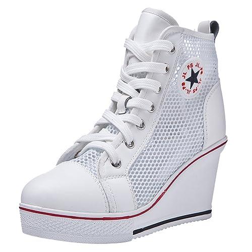 Casuales Deportivas Respirables De Kivors Zapatillas Mujer Zapatos wqZfx65Ypx