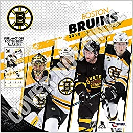 Boston Calendar 2019 Boston Bruins 2019 Calendar: Lang Holdings Inc.: 9781469360645