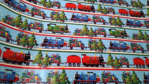 [Christmas Wrapping Thomas & Friends Tank Engine Holiday Paper Gift Greetings 1 Roll Design Festive Wrap James Percy] (Thomas The Train Costume Walmart)