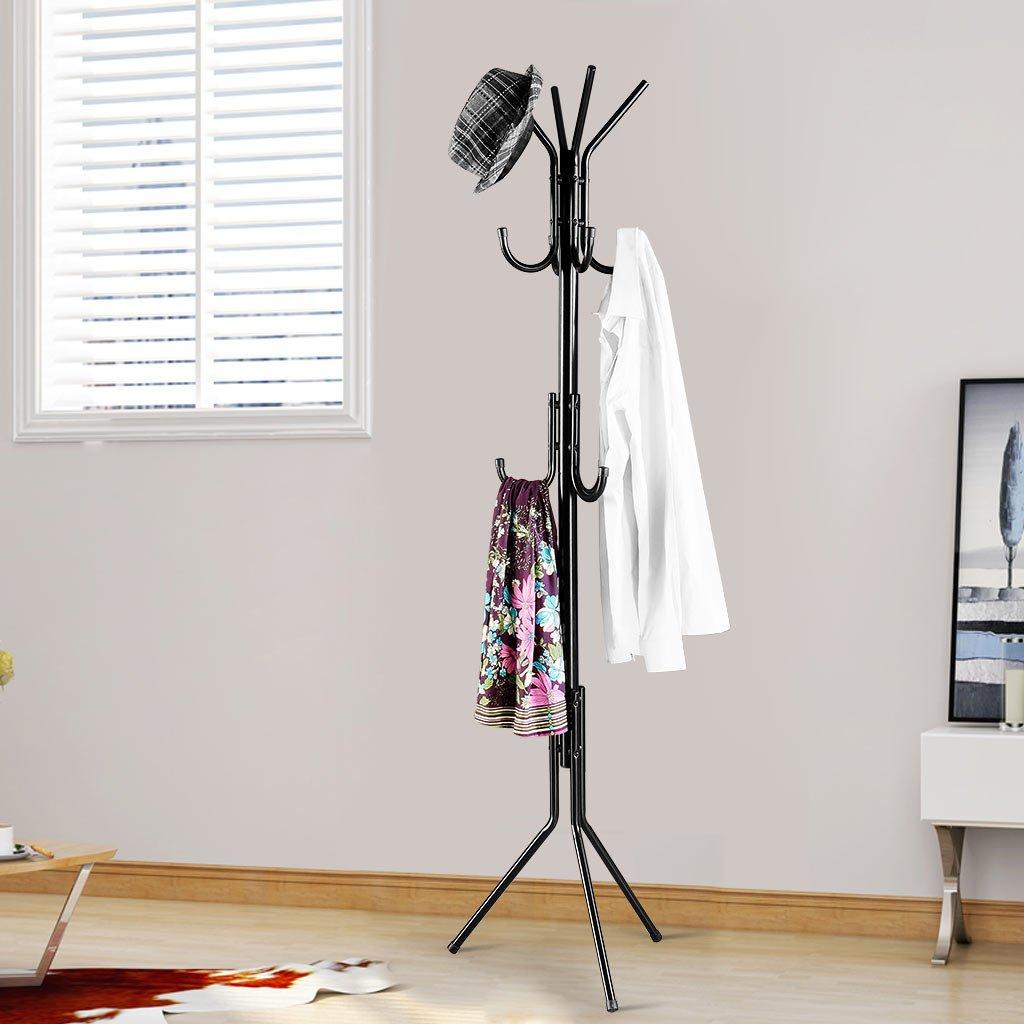Amazon.com: Langria Perchero de 3 niveles y 11 brazos ...