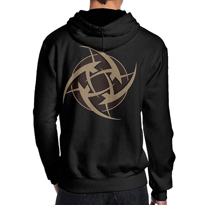 Amazon.com: LiyiFF Mens Ninjas In Pyjamas Hoodie Sweatshirt ...
